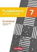 Fundamente der Mathematik - Nordrhein-Westfalen - Ausgabe 2019. 7. Schuljahr - Serviceband