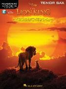 The Lion King for Tenor Sax: Instrumental Play-Along