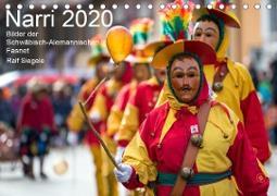 Narri 2020 Bilder der Schwäbisch-Alemannischen Fasnet (Tischkalender 2020 DIN A5 quer)