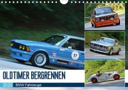 OLDTIMER BERGRENNEN - BMW Fahrzeuge (Wandkalender 2020 DIN A4 quer)