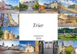 Trier Impressionen (Tischkalender 2020 DIN A5 quer)