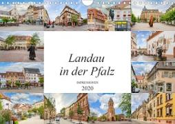 Landau in der Pfalz Impressionen (Wandkalender 2020 DIN A4 quer)