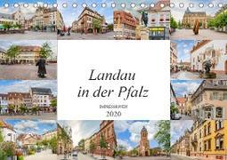 Landau in der Pfalz Impressionen (Tischkalender 2020 DIN A5 quer)