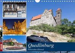 Quedlinburg - Pittoreskes Kleinod (Wandkalender 2020 DIN A4 quer)