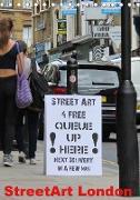 StreetArt London (Tischkalender 2020 DIN A5 hoch)