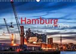 Hamburg City Vibes (Wandkalender 2020 DIN A3 quer)