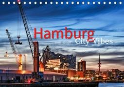 Hamburg City Vibes (Tischkalender 2020 DIN A5 quer)