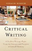 CRITICAL WRITINGA GT WRITING