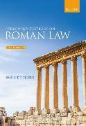 BORKOWSKIS TEXTBOOK ON ROMAN LAW 6E PAPE