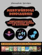 Scherenschnitt-Aktivitäten: Merkwürdige Dinosaurier - Ausschneiden und Einfügen