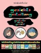 Kleinkinderbücher: Gesichts-Gestaltung - Ausschneiden und Einfügen