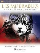 Les Miserables for Classical Players: Violin and Piano with Online Accompaniments
