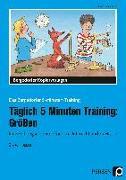 Täglich 5 Minuten Training: Größen