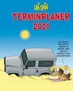 Uli Stein - Terminplaner 2021: Taschenkalender