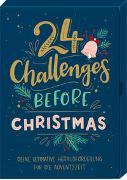 Karten-Box - 24 Challenges before Christmas