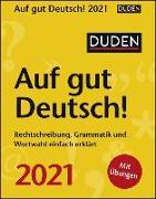 Duden Auf gut Deutsch! Kalender 2021