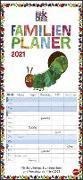 Die kleine Raupe Nimmersatt Familienplaner Kalender 2021