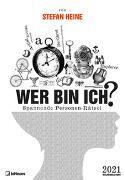Stefan Heine Wer bin ich? 2021 Wochenkalender - Quizkalender - Rätselkalender - Jede-Woche-neue-Rätsel - 23,7x34