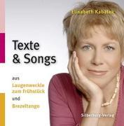 CD Texte und Songs