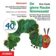 Die kleine Raupe Nimmersatt (Sächsisch)