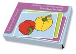 Bildkarten Grundwortschatz: Essen und Trinken