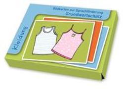 Bildkarten Grundwortschatz: Kleidung