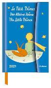 Der Kleine Prinz 2021 - Diary - Buchkalender - Taschenkalender - 10x15