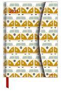 VW Bulli 2021 - Diary - Buchkalender - Taschenkalender - 16x22