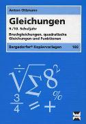 Gleichungen - 9./10. Klasse