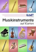 Musikinstrumente auf Karten