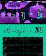 Auf Reisen Großer Monatsplaner 2021