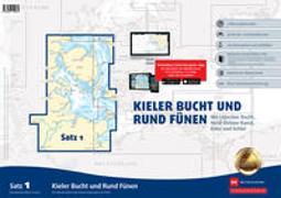 Sportbootkarten Satz 1: Kieler Bucht und Rund Fünen (Ausgabe 2020)