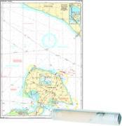 Einzelkarte Fehmarn - Fehmarnbelt, Fehmarnsund, Ansteuerung Heiligenhafen (Ausgabe 2020)