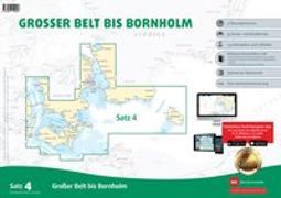 Sportbootkarten Satz 4: Großer Belt bis Bornholm (Ausgabe 2020)