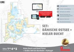 Sportbootkarten Satz 1, 2 und 4 - Set: Deutsche Ostsee und Südliche Dänische Ostsee (Ausgabe 2020)