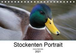 Stockenten Portrait (Tischkalender 2021 DIN A5 quer)