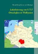 Lokalisierung von 5.717 Ortschaften in Wolhynien