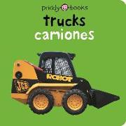 Bilingual Bright Baby Trucks: English-Spanish Bilingual