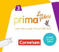 Prima - Los geht's!. Band 3 - Begleitmaterial auf USB-Stick
