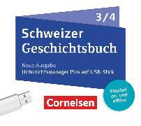 Schweizer Geschichtsbuch - Neubearbeitung. Band 3/4 - Begleitmaterial auf USB-Stick