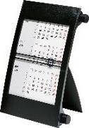 rido Tischkalender 2021, 3-Monatskalender Drehknopf schwarz