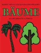 Malbücher für 2-Jährige (Bäume)