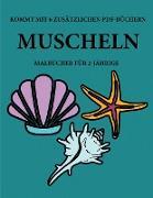 Malbücher für 2-Jährige (Muscheln )