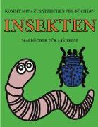 Malbücher für 2-Jährige (Insekten)