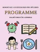 Malbücher für 2-Jährige (Programme)