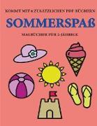 Malbücher für 2-Jährige (Sommerspaß)