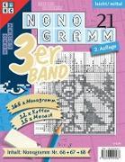 Nonogramm 3er-Band Nr. 21