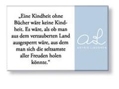 """Astrid Lindgren Magnet """"Kindheit"""""""