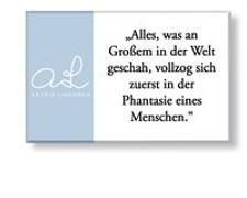 "Astrid Lindgren Magnet ""Phantasie"""