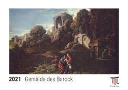 Gemälde des Barock 2021 - Timokrates Kalender, Tischkalender, Bildkalender - DIN A5 (21 x 15 cm)